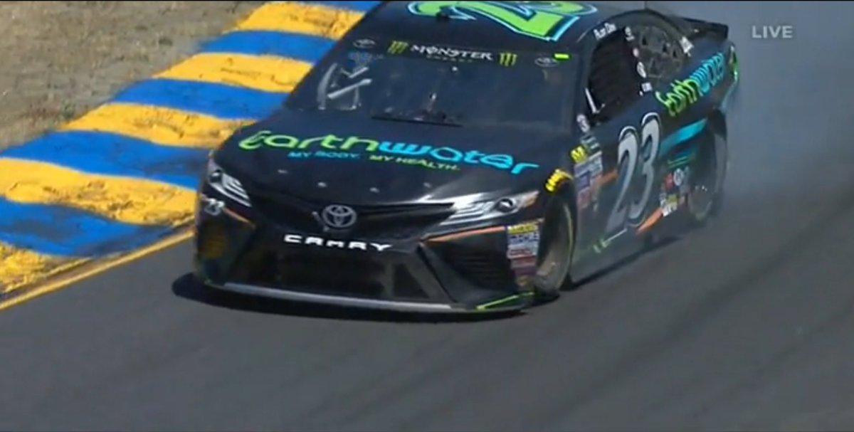 #NASCAR @Alon_Day currently up to P11 with 30 minutes to go in final practice at @RaceSonoma on the #23 @BKRacing_2383 @EarthWaterHQ !!<br>http://pic.twitter.com/tDhxXm1Lqw