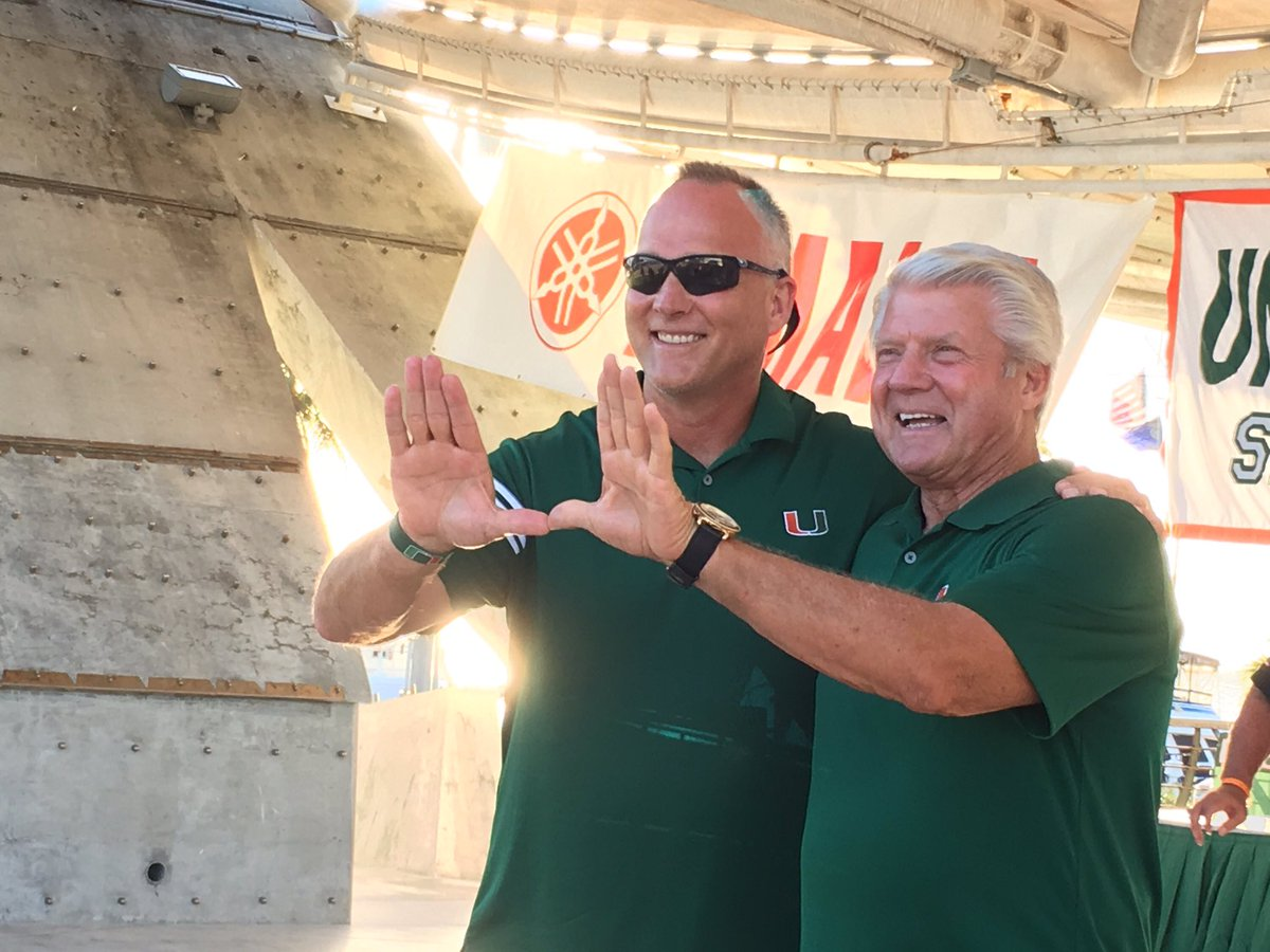 A Glorious Past Meets A BRIGHT Future #GOCANES #CanesFam https://t.co/HJ0iQVcPbX