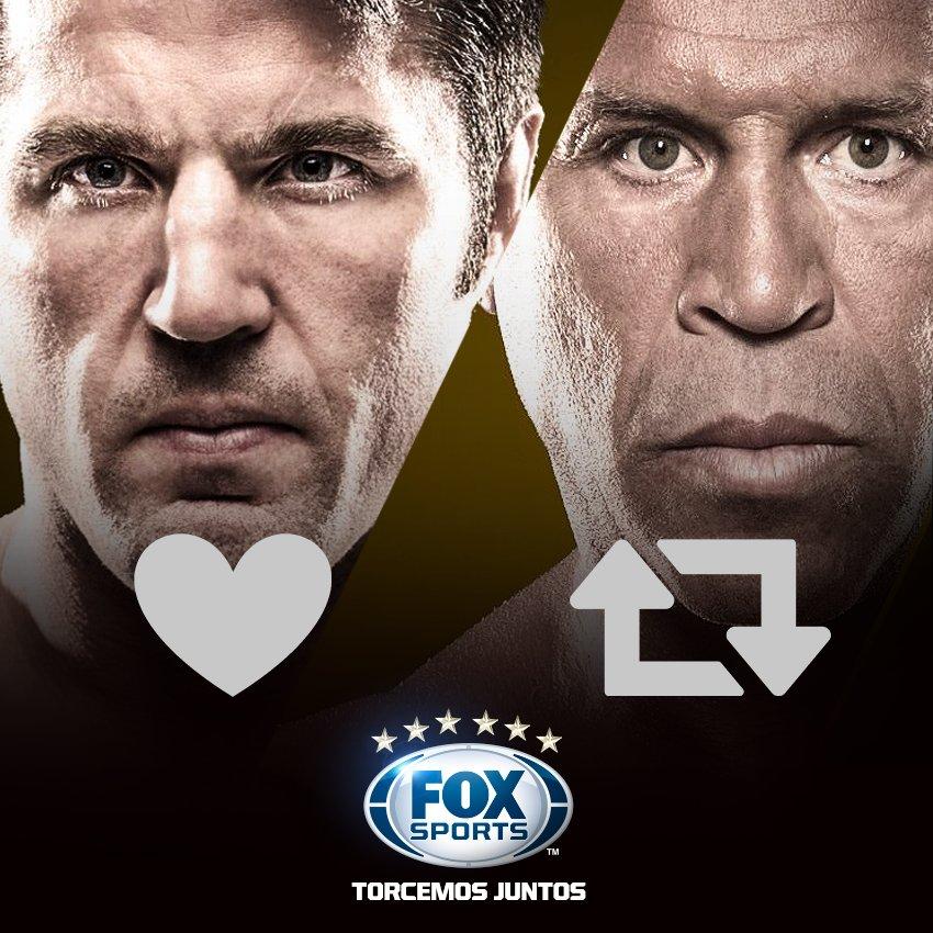 🥊 O 'Falastrão' x 'Cachorro Louco', amanhã tem Bellator 180 trazendo uma das lutas mais esperadas do ano! Quem leva essa? #WandFoxFightClub