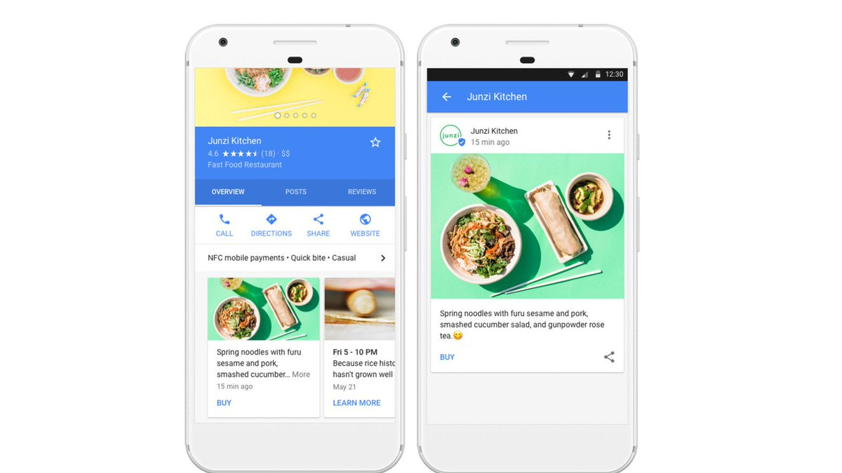 Local businesses can now feature content directly in Google search results  http:// dlvr.it/PPdg9M  &nbsp;   #tech #news #technology<br>http://pic.twitter.com/Mb04jym5hH