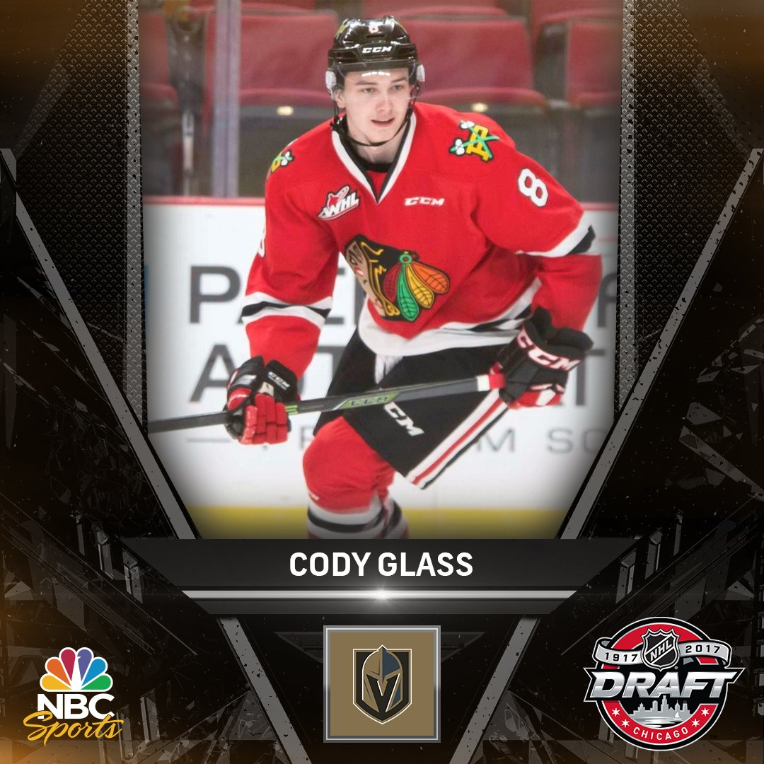 Cody Glass is headed to the @GoldenKnights! #NHLDraft https://t.co/f6R...
