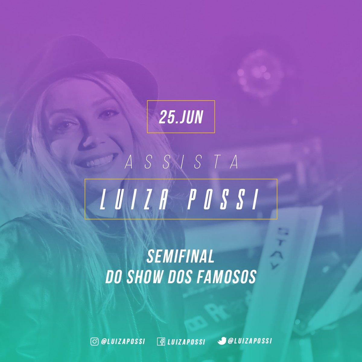 Tá começandooooo! É a semifinal do #ShowDosFamosos no Domingão do Faus...