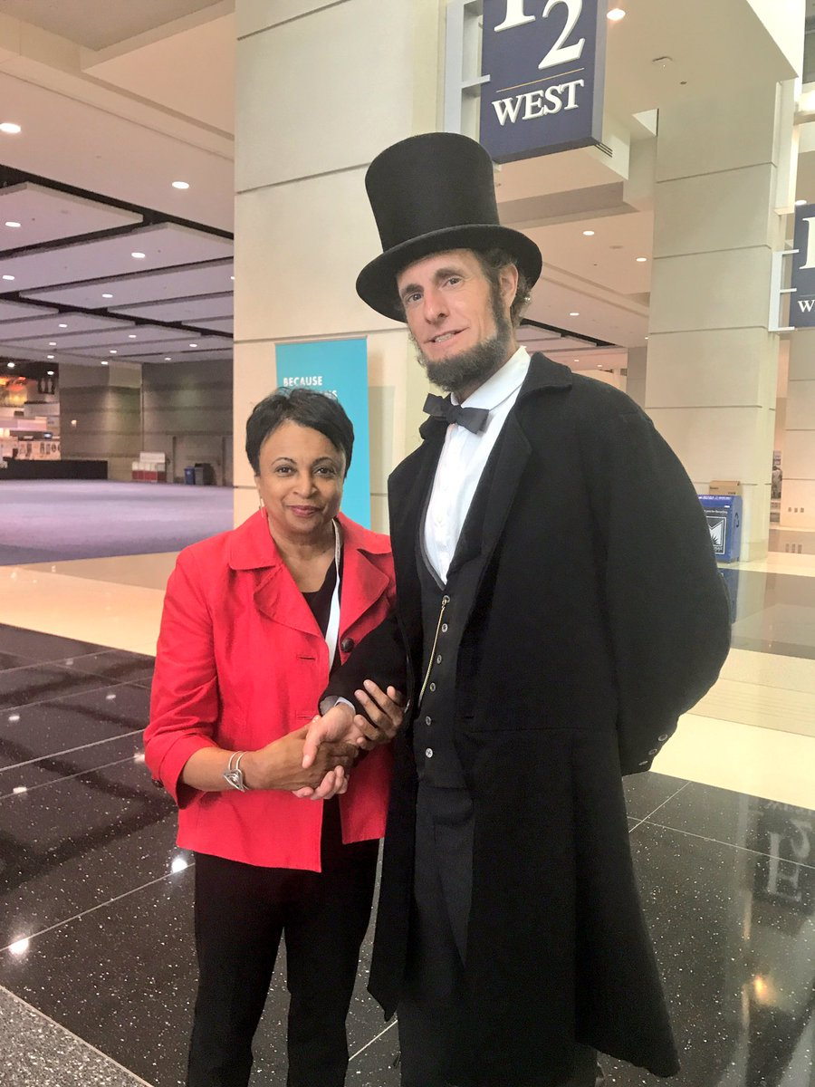 I told him I was sworn-in as Librarian of Congress with his Bible. #LO...