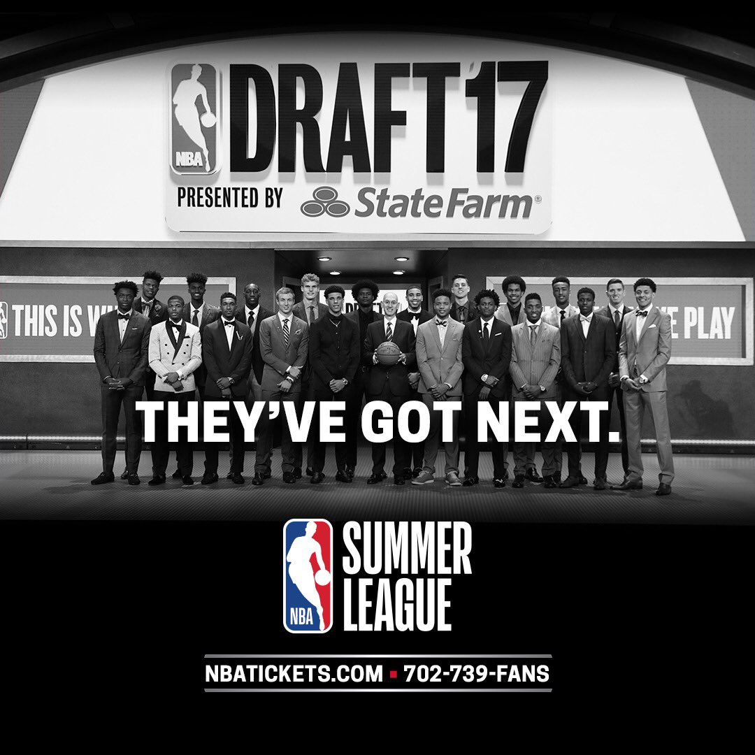 They've got next... So see them first.   Las Vegas #NBASummer tix: htt...