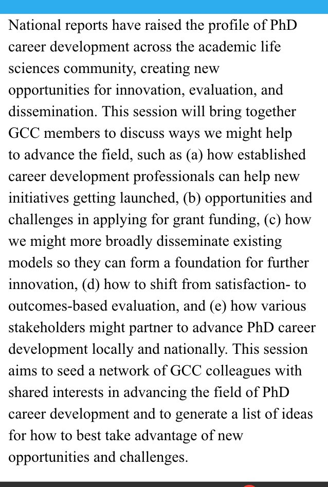 Markers & stickers packed! Looking forward to #2017GCC session w/@billlindstaedt @rbixenmann on advancing life sciences #PhD #careerdev. https://t.co/SCVtKcVCJq