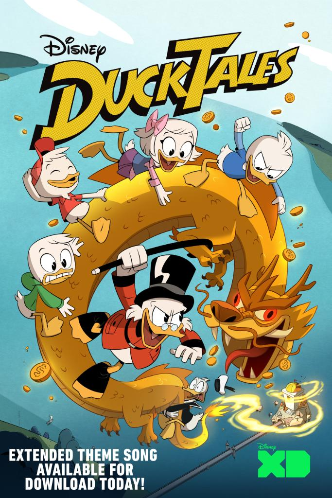 Wait, there's MORE #DuckTales music to get stuck in our heads? YESSS!  The Extended Edition is available for download now! <br>http://pic.twitter.com/fhspGvumbZ