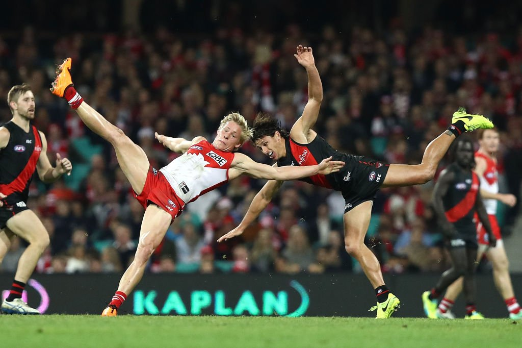 WATCH: The final 2 minutes of Sydney's impossible last-second win over Essendon https://t.co/tIIDNAkrFj