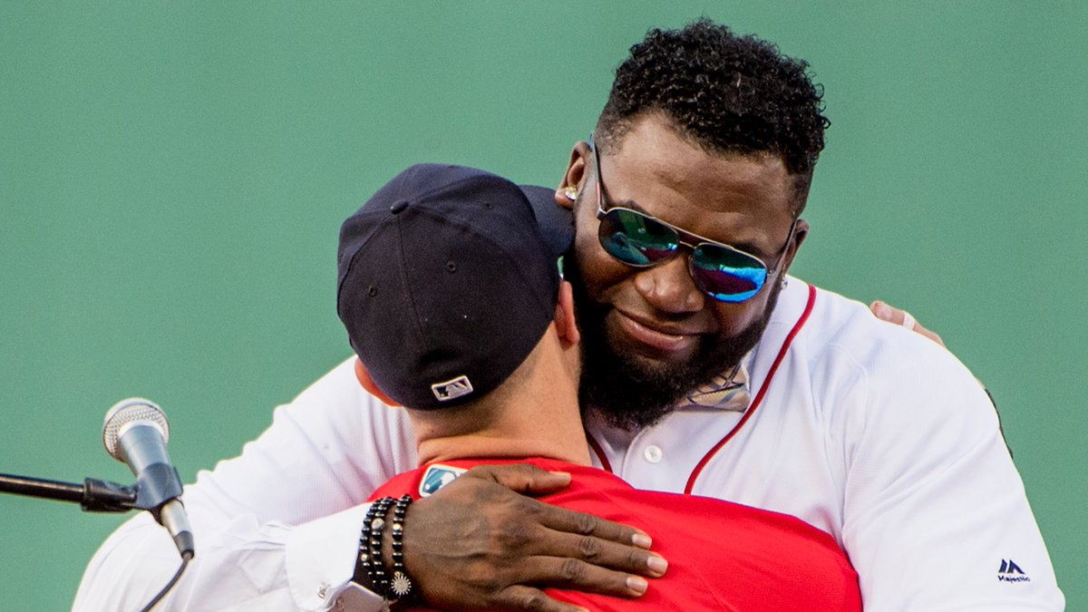 'The little guy made me cry!' - @davidortiz   #34ever https://t.co/2yQ...