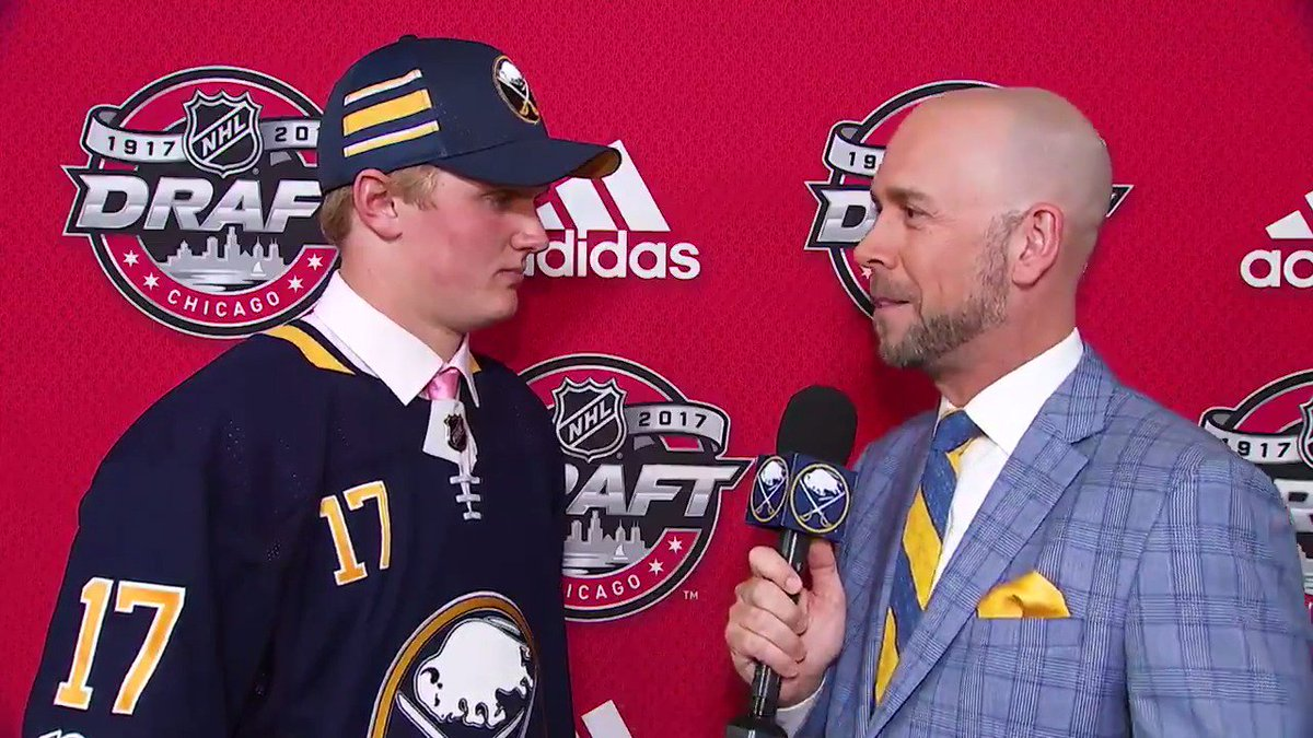'A huge relief.'  Casey Mittelstadt chats 1-on-1 with @duffersabres....