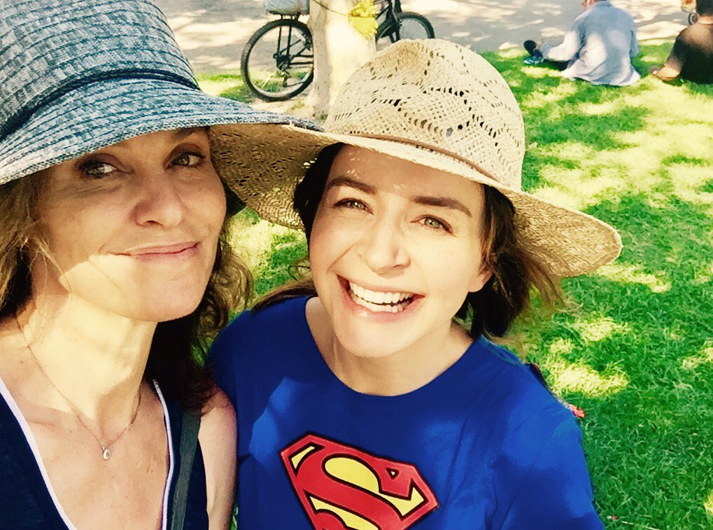 Forgot to post this tasty morsel. Me and the original super girl. @caterinatweets https://t.co/UBQEBu5bbz