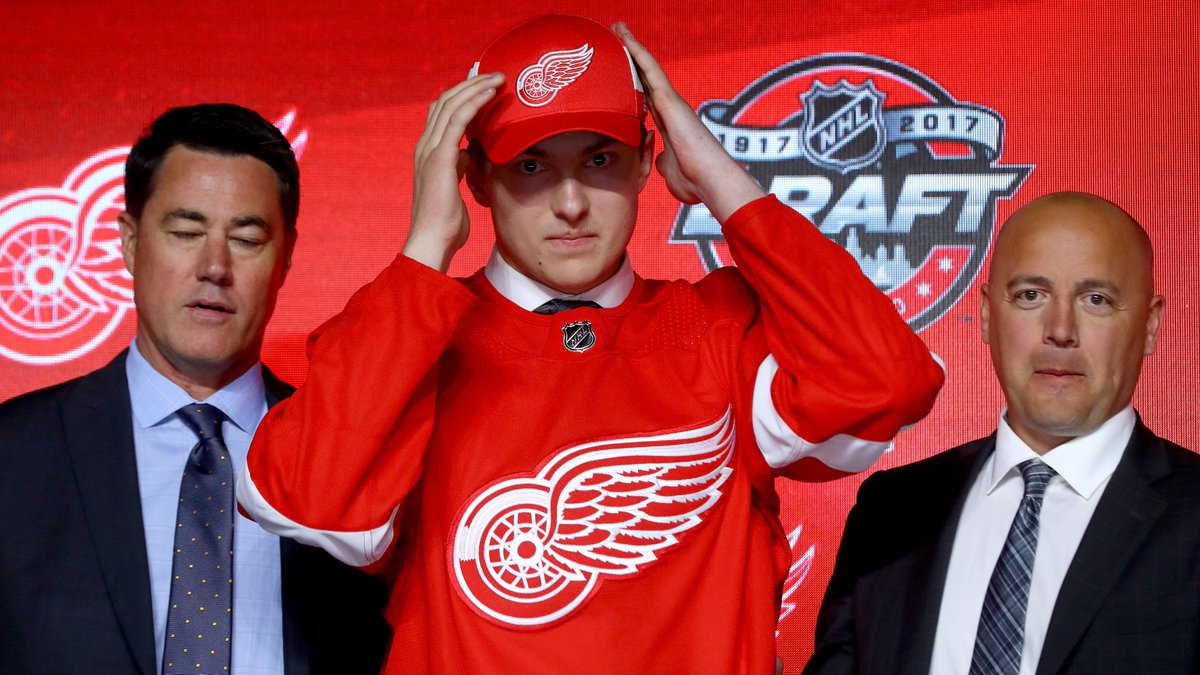 Getting drafted by @DetroitRedWings a 'dream come true' for Rasmussen https://t.co/z347ivvxlR