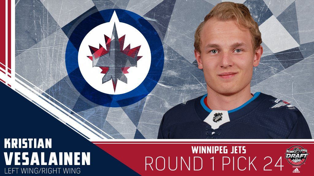 The @NHLJets have added another elite winger from Finland in Kristian...