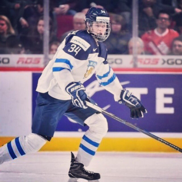 Kristian Vesalainen Position: Left Wing/Right Wing 6-foot-3 - 209 lbs...