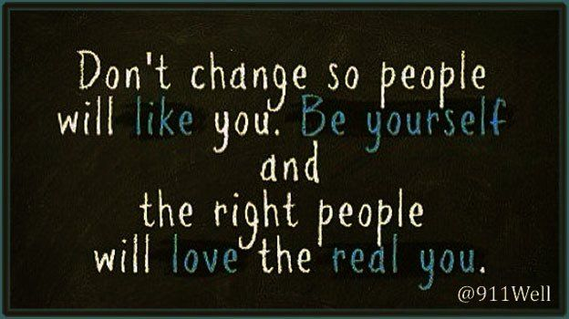 Don't change ... #LoveYourself @respectyourself #LGBT #Stigma #mentalHealth via @911well https://t.co/9W7BsOnofw