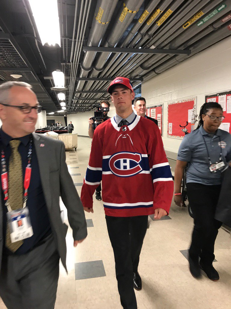 Ryan Poehling: 'I'm going to have to learn French now.' https://t.co/z...