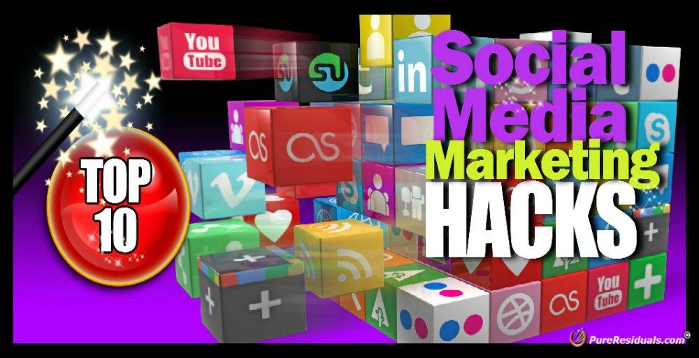 TOP 10 Social Media Marketing Hacks  http:// pureresiduals.com/the-top-10-soc ial-media-marketing-hacks/ &nbsp; …  #socialmedia #smm #hacks <br>http://pic.twitter.com/175BrbFh56