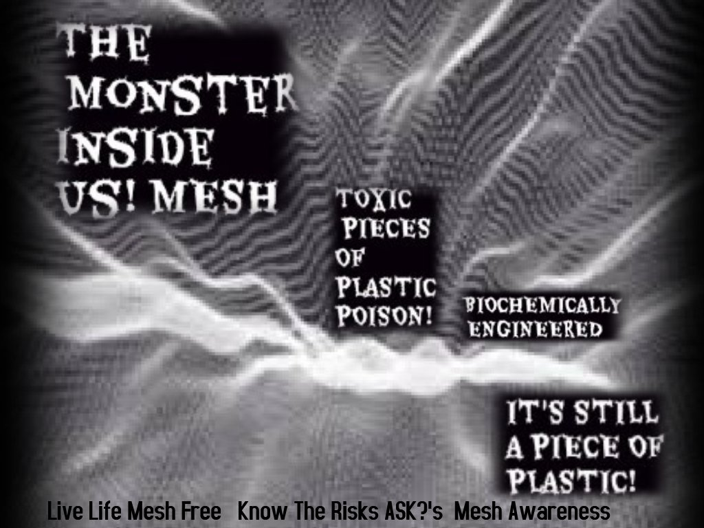 Hernia &amp; Pelvic Mesh Injured R Bodies R now a Torture Chamber #Doctors #Congress #FDA #Judicial System Ignores this #CrimeAgainstHumanity<br>http://pic.twitter.com/JNAQ00dQHp