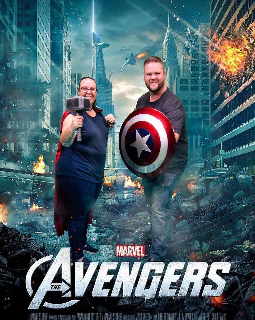 We&#39;re #Avengers now @kallee #qagoma #marvel #mcu #marvelnow  http:// ift.tt/2t536tH  &nbsp;  <br>http://pic.twitter.com/Vh3dJEaayP