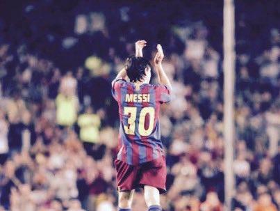 24 de junio. Los 30 del mejor de todos. #Messi30 https://t.co/hqTmzoTp...