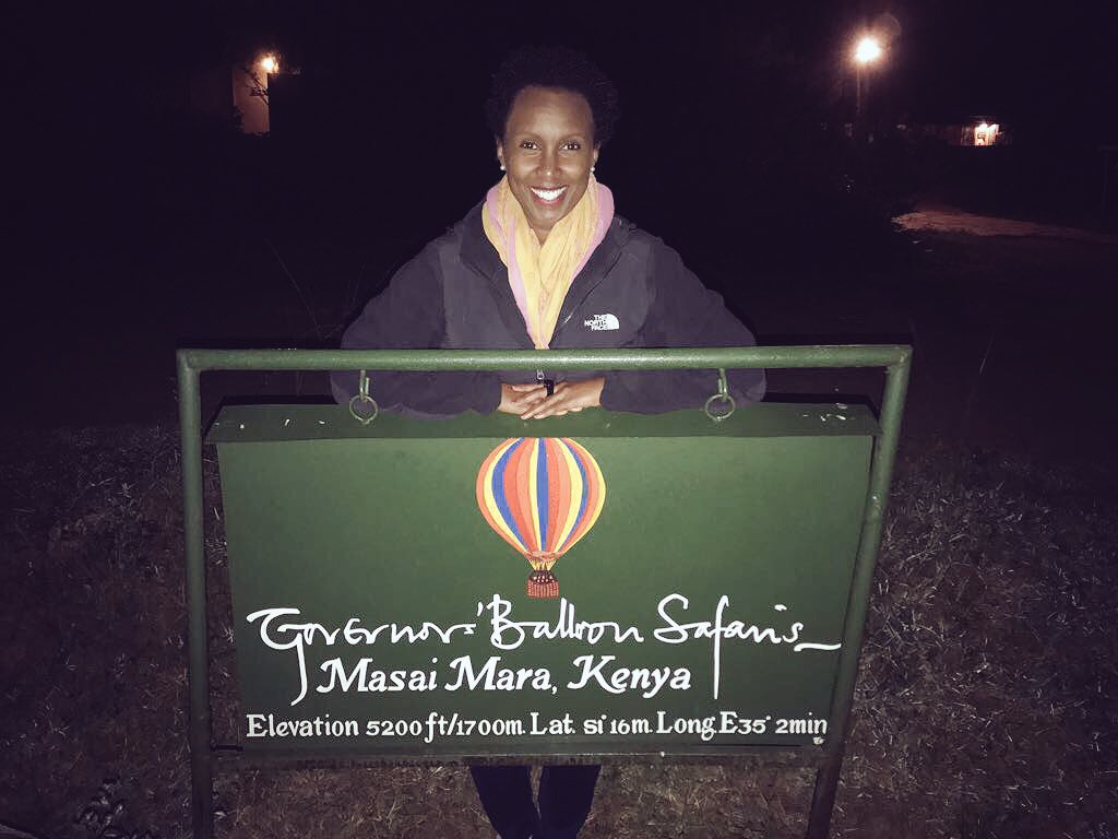 Carmen Niira On Twitter Getting Ready For Our Governors Balloon Safari So Excited My First Flight Over The Mara