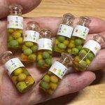 小さくてかわいい!ミニチュア梅酒!粘土で作る小さい雑貨がブームの予感!?