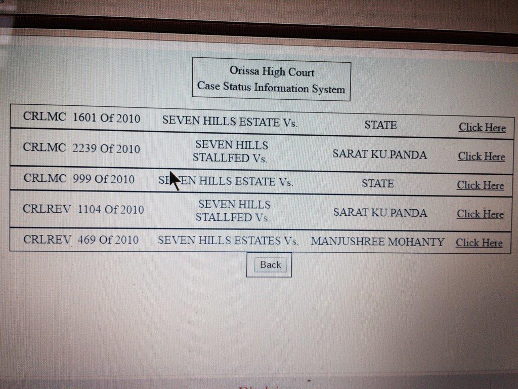 Cases against #seven hills #berhampur 2010 @homeodisha<br>http://pic.twitter.com/HsJjPrvZUJ
