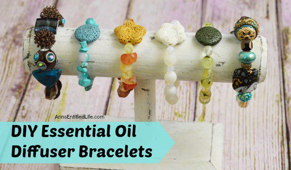 DIY Essential Oil Diffuser Bracelets