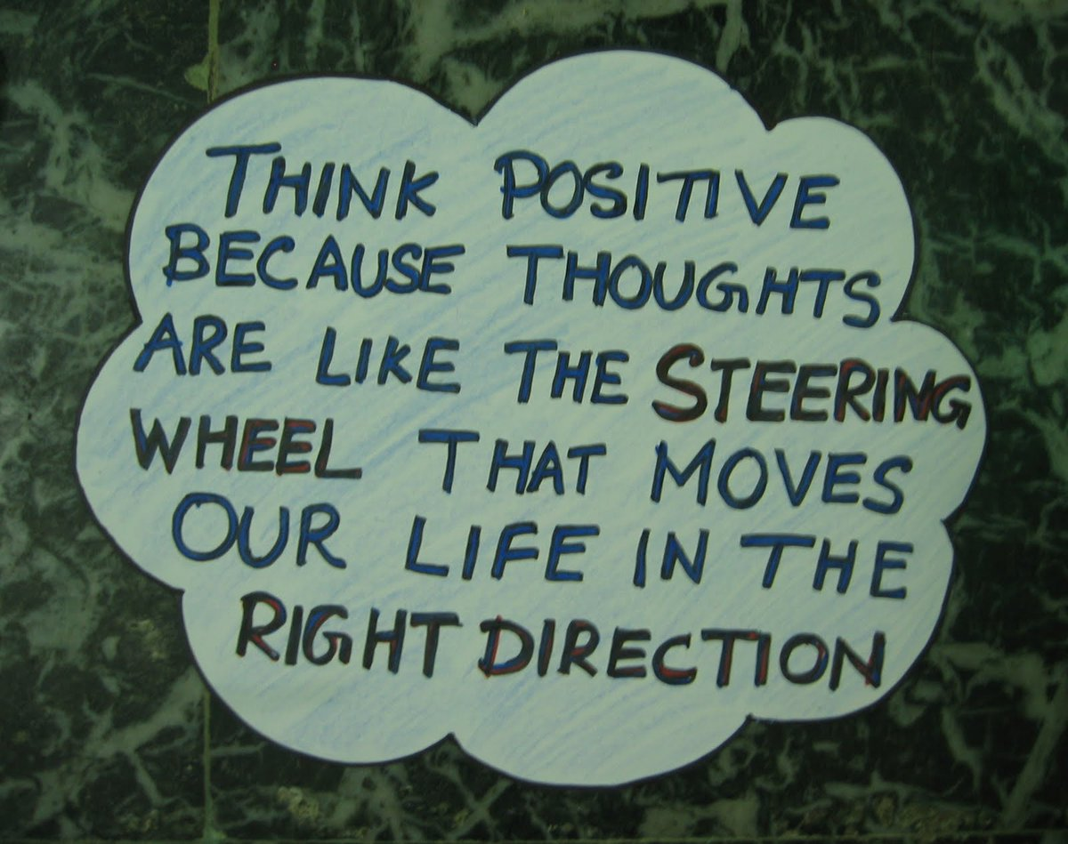 "Life Moves On Quotes Inspirational Quotes On Twitter ""think Positive Because Thoughts"
