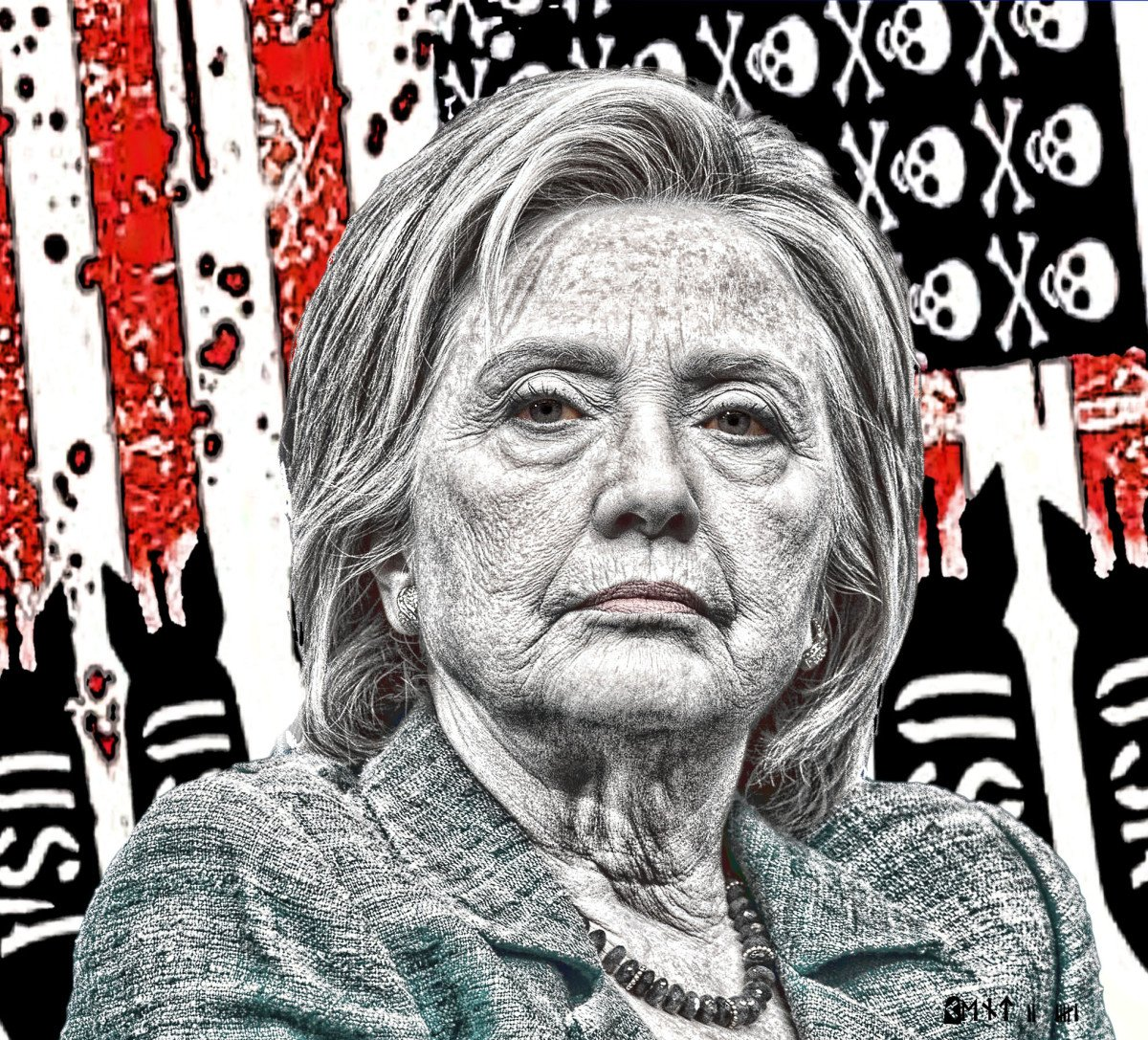 SWAMP DWELLER HILLARY Slithered out of the slime to tweet &quot;Republicans are the Death Party&quot;   Partly True, we killed her Dream to be #POTUS <br>http://pic.twitter.com/qMj9Bz814t