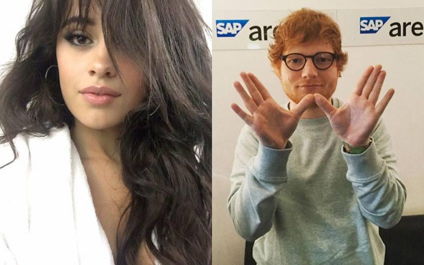 OMG! Camila Cabello pretende lançar música em espanhol com Ed Sheeran...