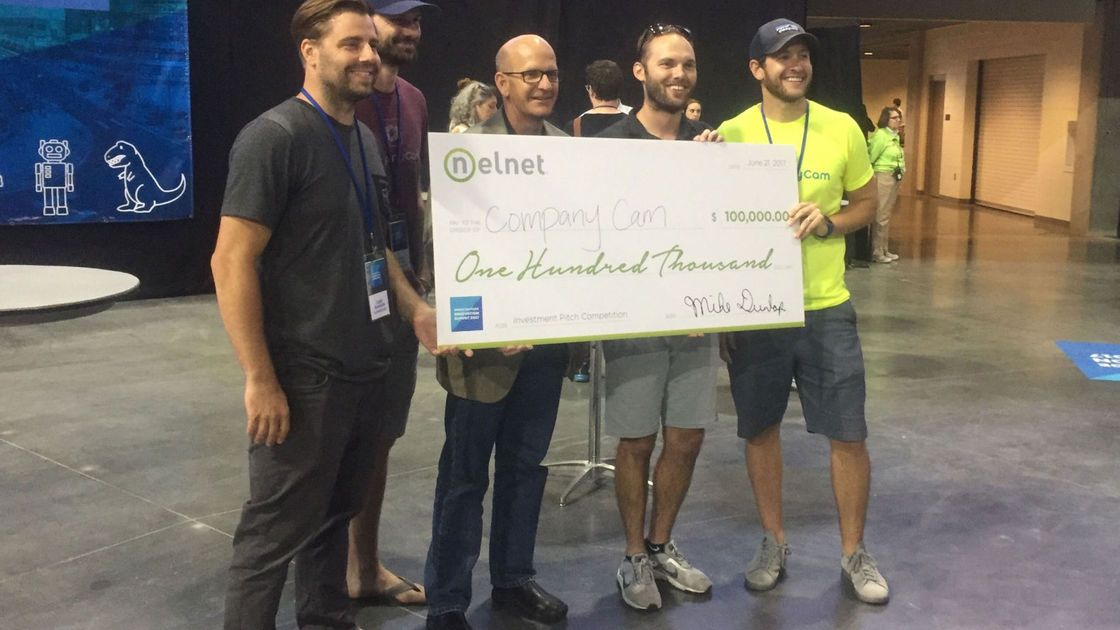 Startup wins $100,000 pitch competition @theiosummit - https://t.co/6g...