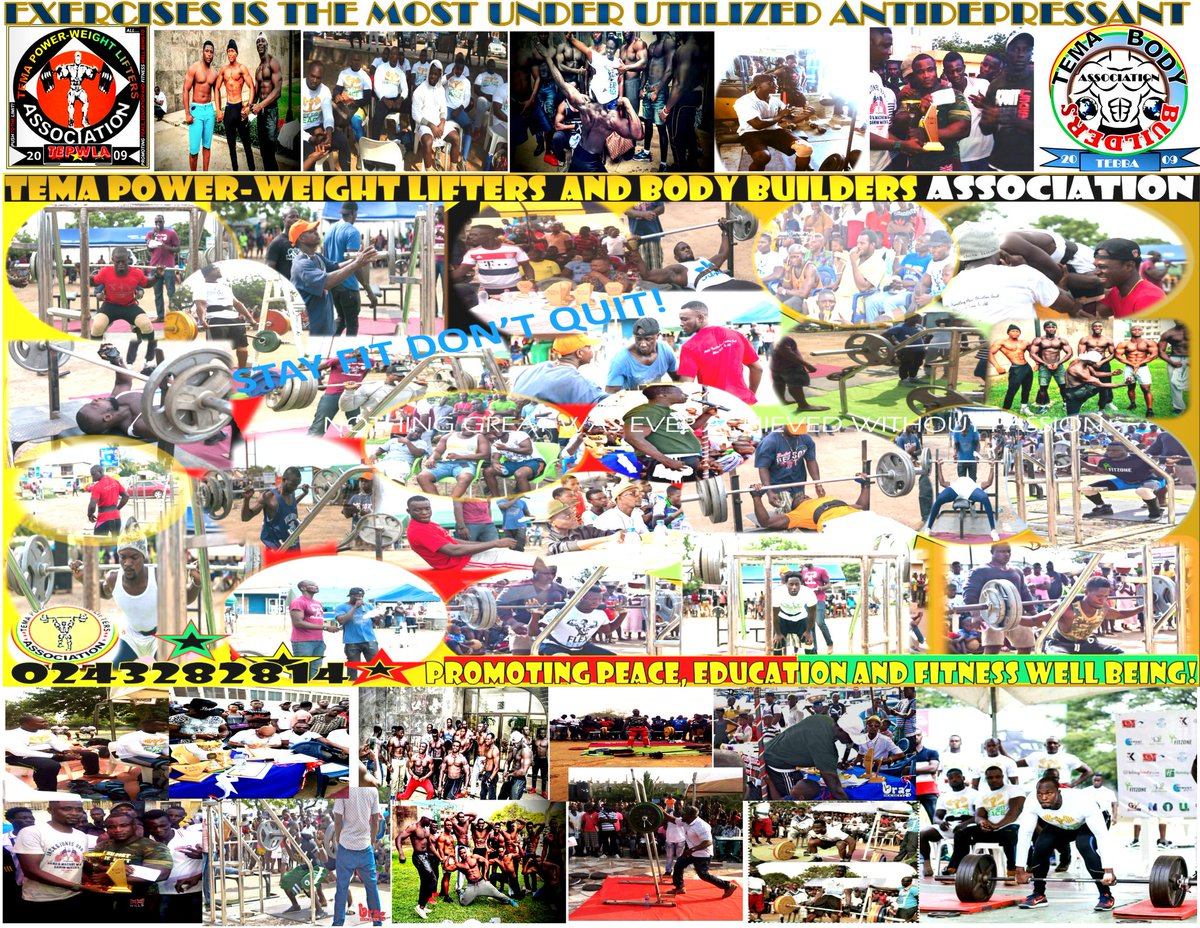 Tema power lifters events at all the competition venues at Tema inter...