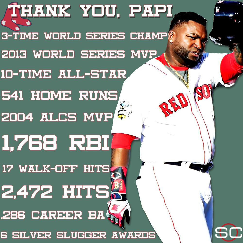 Big Papi is forever cemented as a Red Sox legend. https://t.co/0beyVA3...