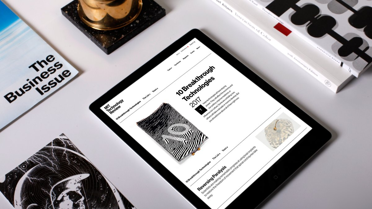 Get the story behind the story, before anyone else. Become an MIT Technology Review Insider today - https://t.co/keQcXFxQEp