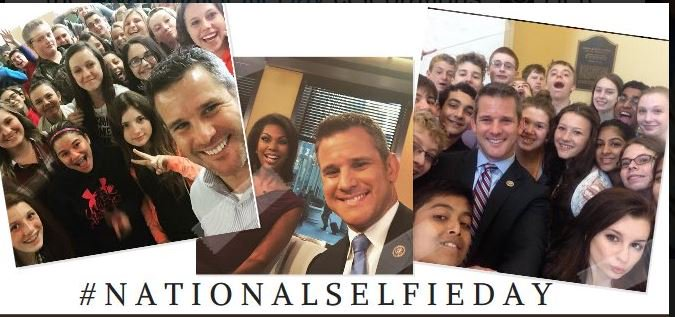 From Paul Ryan to Orrin Hatch to Adam Kinzinger, lawmakers took to Twitter this week to celebrate Natl. Selfie Day https://t.co/j1XL15hDhF