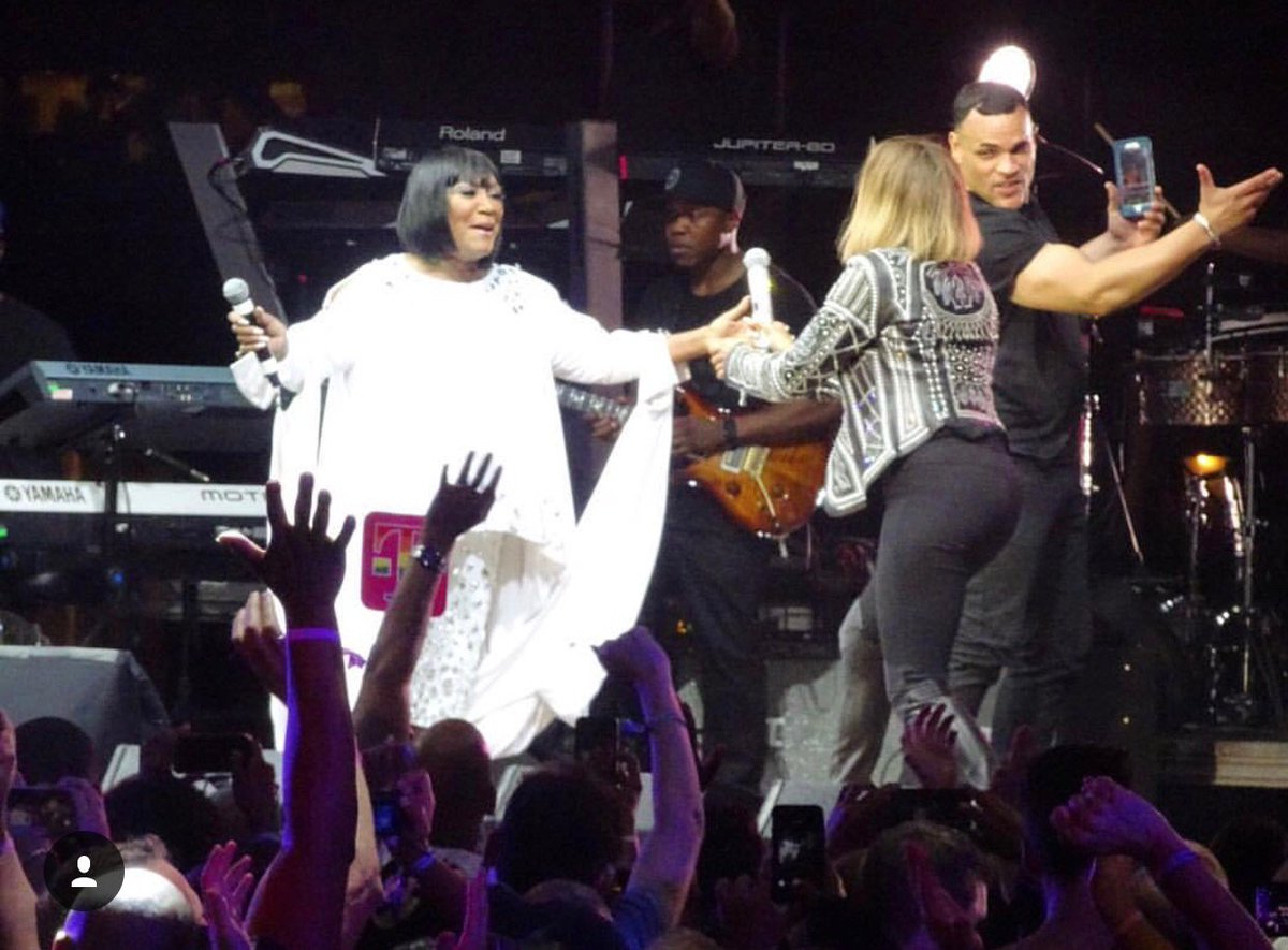 Night made....singing with @MsPattiPatti https://t.co/iTDRtGiLwE