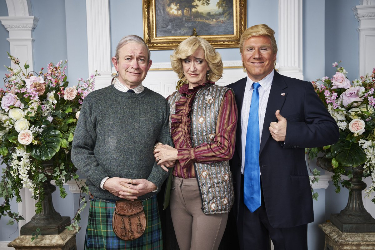 Exclusive: The Windsors welcome @realDonaldTrump to the Royal Household https://t.co/JtwBFSiPQ4