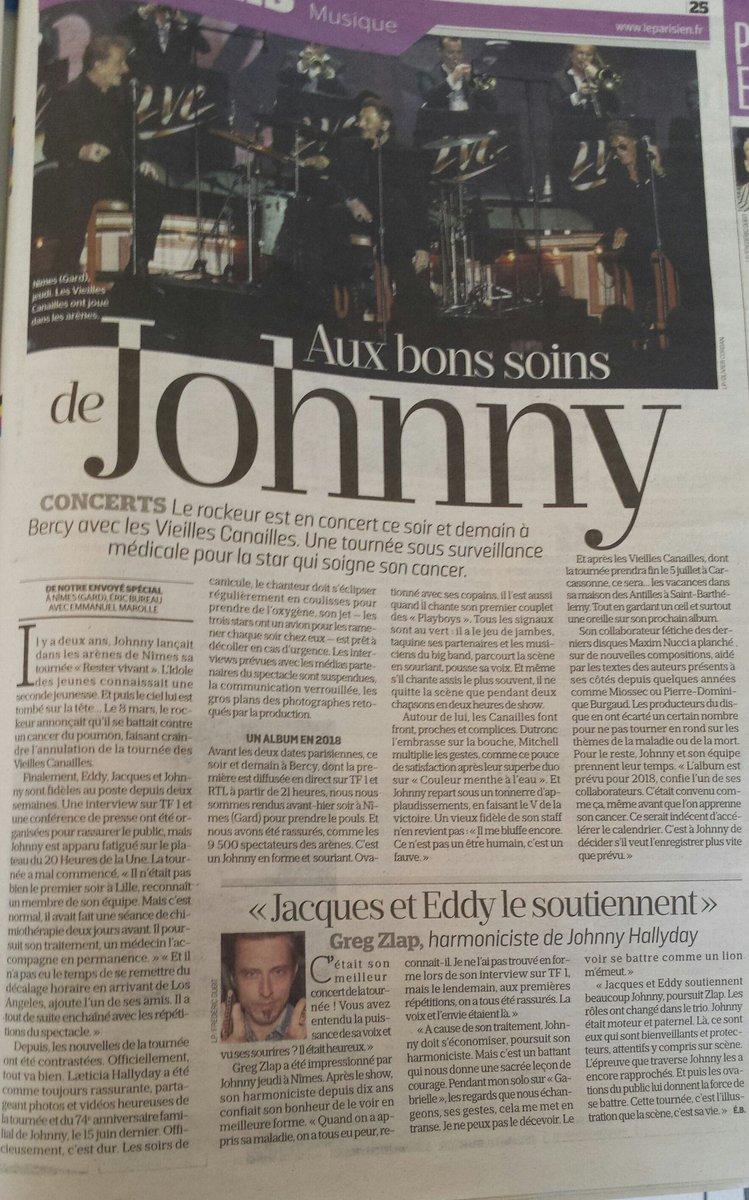 Moi je pense que ce soir sur #TF1  @JohnnySjh ne va pas s'économiser Il va tout donner pour nous rassurer  @LHallyday #LeParisien pic.twitter.com/dwd95F2SfJ