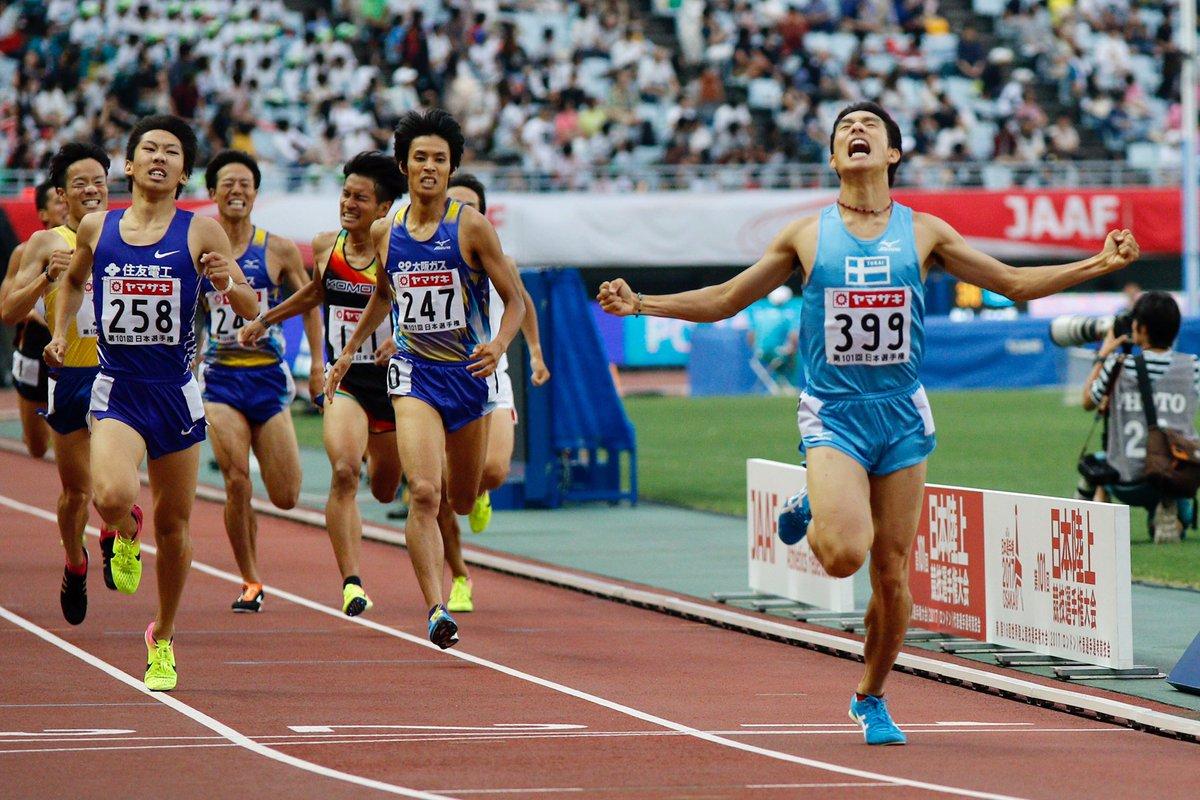 1500m 決勝 🥇館澤 亨次 東海大 3.49.73 #日本選手権  #ナンバーワンしかいらない #1500m