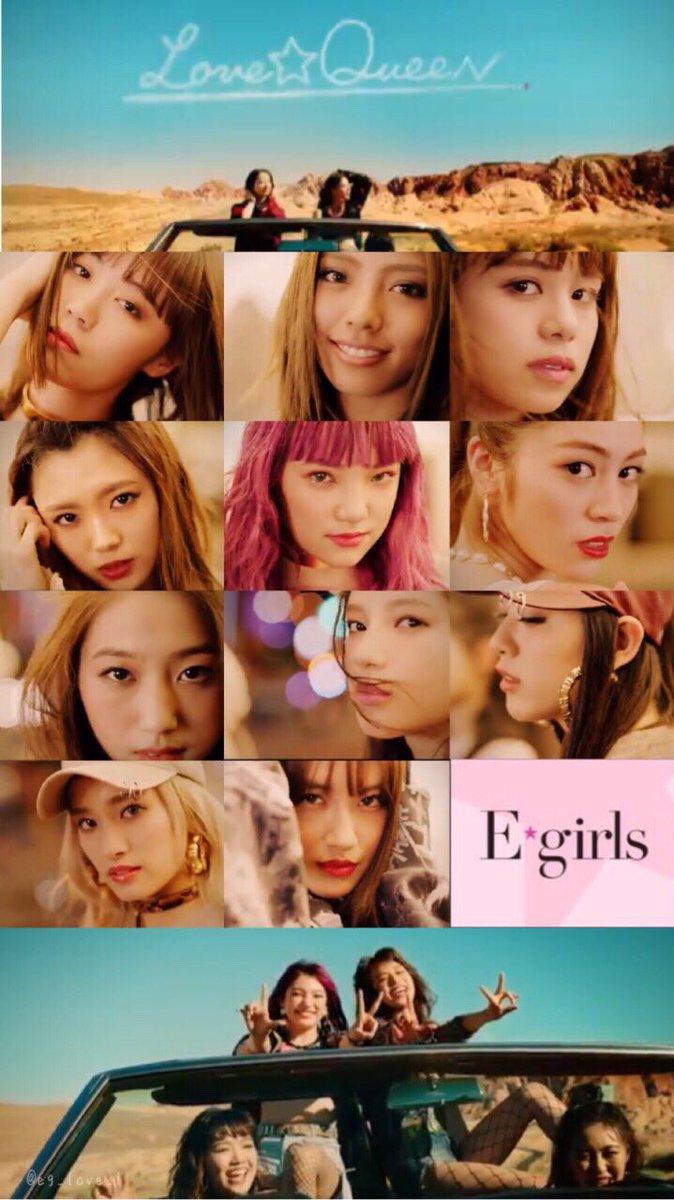 トップコレクション E Girls 壁紙 印刷可能な壁紙とイラスト画像