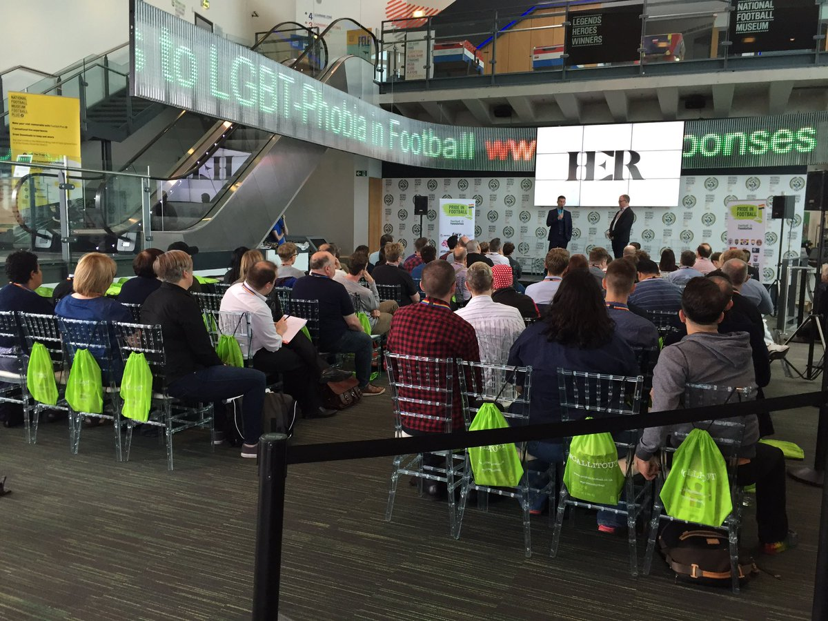 Just got to @FootballMuseum in #Manchester @prideinfootball -#CallItOut Conference wth a super turnout! @LouisaMJones @LouEnglefield @LGBTLD<br>http://pic.twitter.com/gFOuYUtTL6