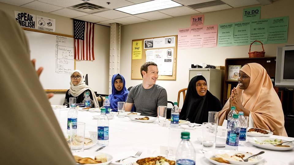 'Powerful reminder of why this country is so great': Facebook CEO Mark Zuckerburg has #iftar with Somali refugees https://t.co/DkSgexKpGN