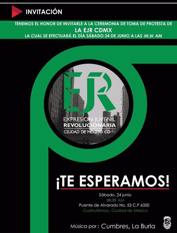 EJR Ciudad de México on Twitter: \