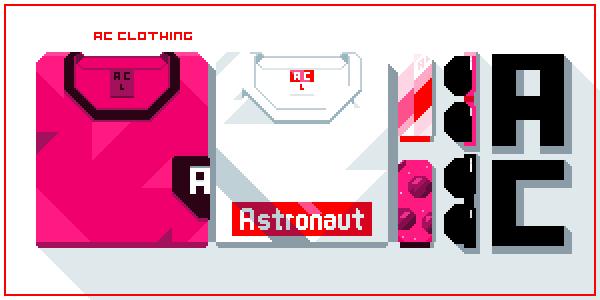 astronautcurveclothing shirts - socks - shades @Pixel_Dailies #pixel_dailies #pixelart<br>http://pic.twitter.com/V8G5fPQGem