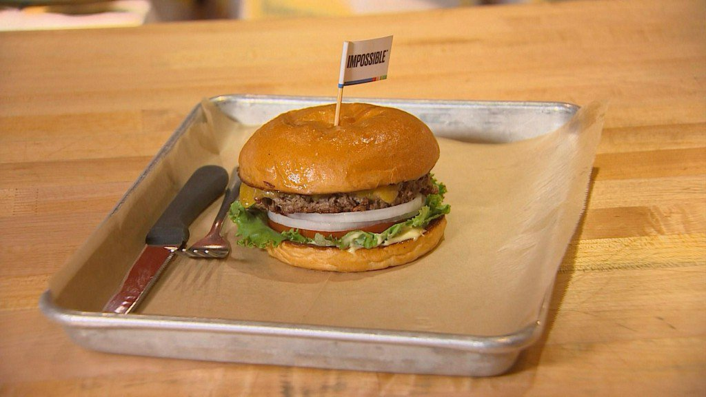 Eco-friendly, bleeding 'Impossible Burger' on sale for first time in Texas at Hopdoddy https://t.co/84iKOgXoKq