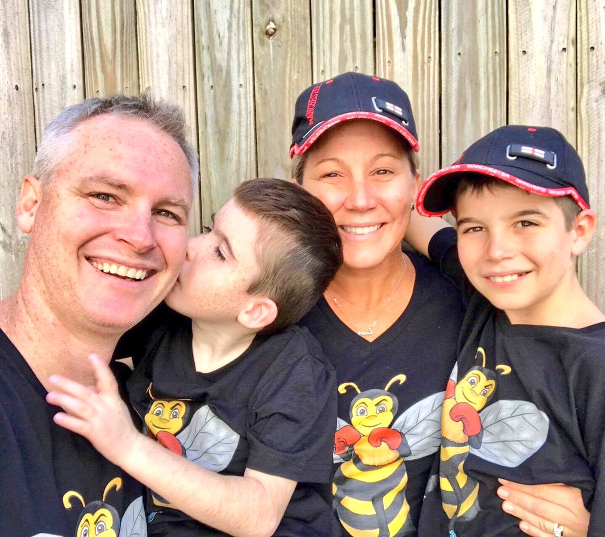Manchester Bee  TShirts make it all the way to Australia  2 love #Manchester hats too ! Buy yours here ---&gt;  https://www. scattee.com/charity-bee-ts hirt &nbsp; …  #Bee<br>http://pic.twitter.com/eOVoGeyR2q