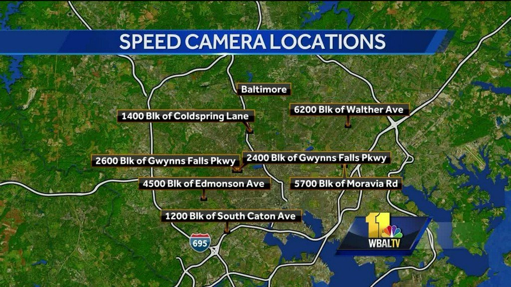 Speed cameras to go back online Monday in Baltimore https://t.co/3fnc7niAt6
