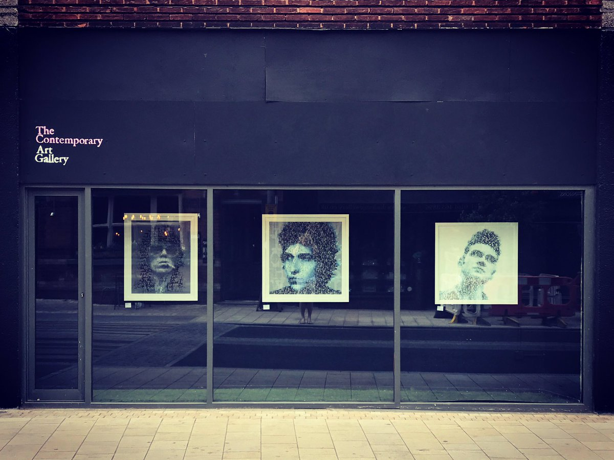 #MikeEdwards - #RonnieWood - #BobDylan - #Morrissey in the #Window in #Altrincham - #typography #music #legend #popart #urbanart #modernart<br>http://pic.twitter.com/ABiNojbfUP