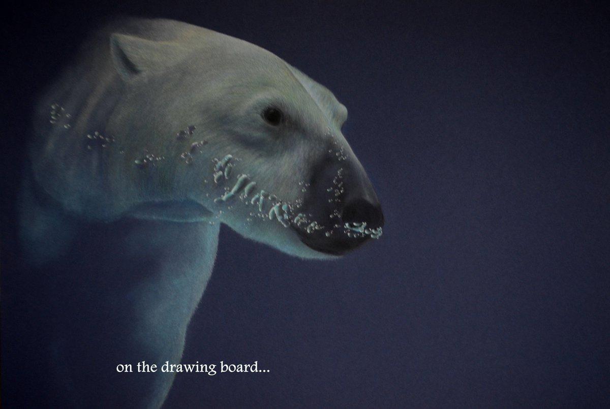 a bit further along with the latest polar bear... #art #drawing #polarbear <br>http://pic.twitter.com/zt8h5EzyZ5