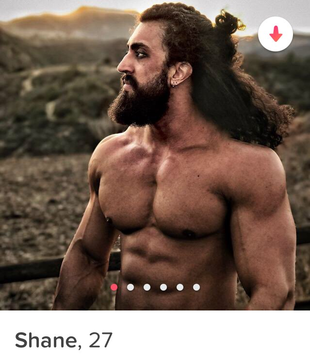 I'm pretty sure I just Tinder matched with Khal Drogo